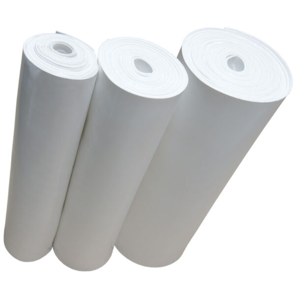 White EPDM Rubber Rolls - Food Grade