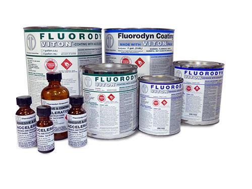 Dupont Epoxy Glue : Fluorodyn™ adhesive tha made with viton
